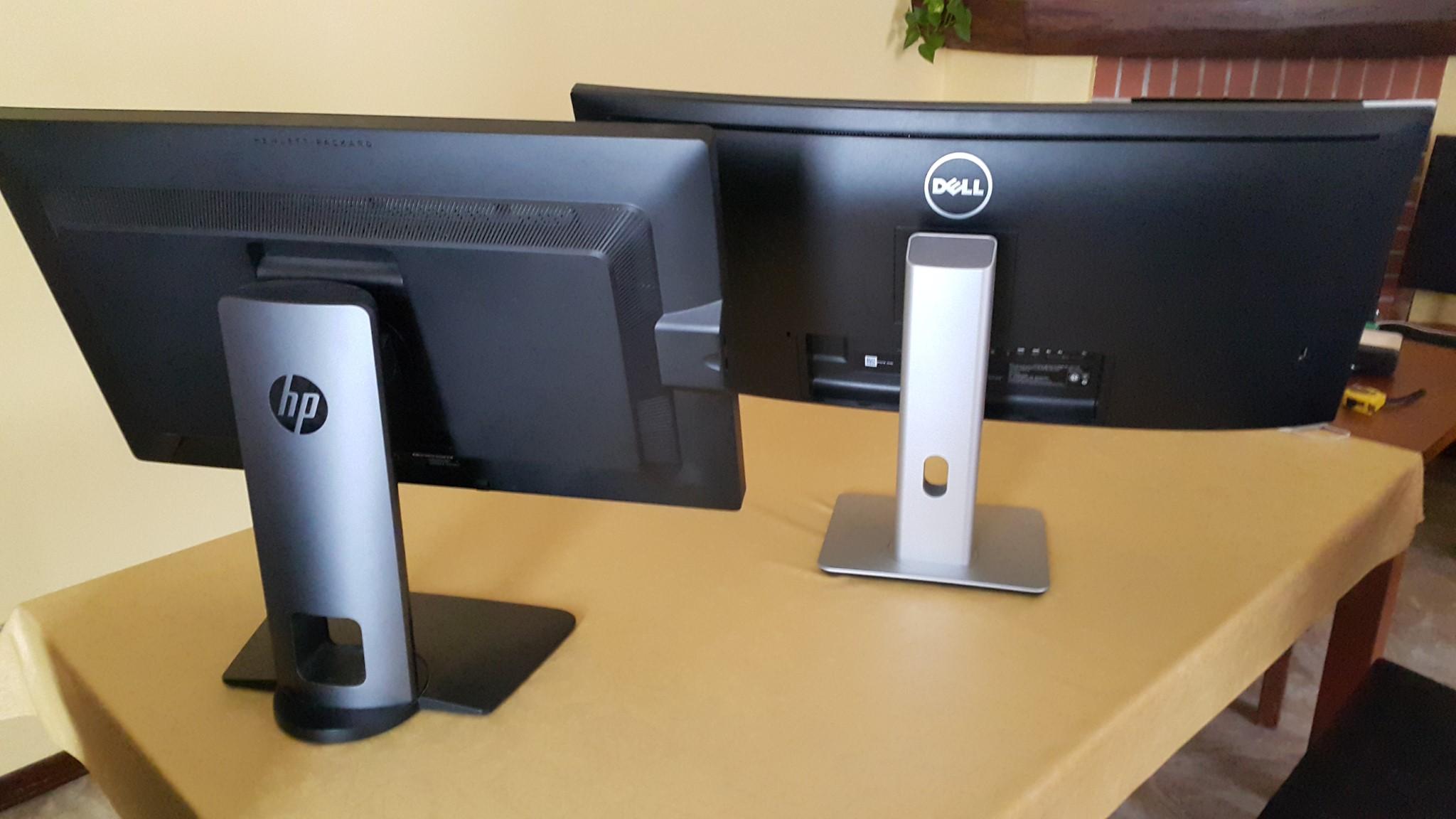 HP Z27n vs Dell U3415W